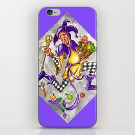 Peace, Plenty and Happiness Fool iPhone Skin