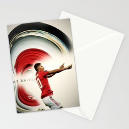 football player Stationery Cards