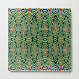 Greenrhythm, 2300v Metal Print