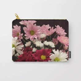 Pom Daisies Carry-All Pouch