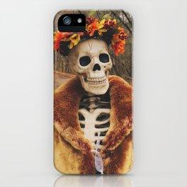 Autumn-Winter Princess iPhone Case