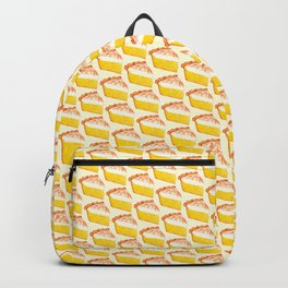 Lemon Meringue Pie Pattern Backpack