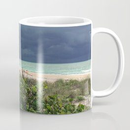Stormy Sky, Aqua Sea Coffee Mug