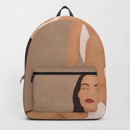 White Dress Backpack