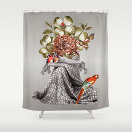 Lady Birds Shower Curtain