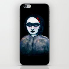 Carnival Lady iPhone & iPod Skin