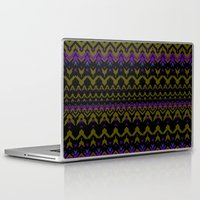 sweater Laptop & iPad Skins featuring Sweater Pattern by Chelsea Densmore