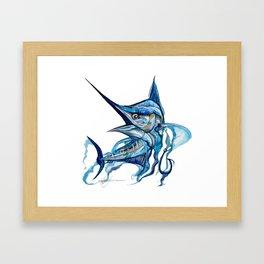 HOOKEM  Framed Art Print
