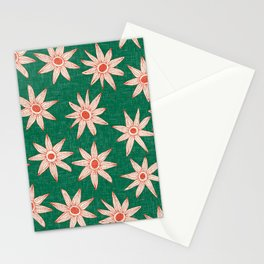 sema palm fire orange Stationery Cards