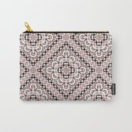 Ethnic ikat pattern.4 Carry-All Pouch