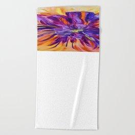 Abstract ochird Beach Towel