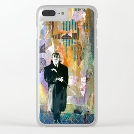 Hello Dalí Clear iPhone Case