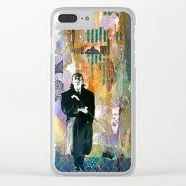 Hello Dalí Clear iPhone Case
