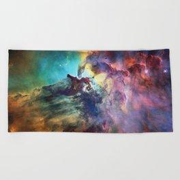 Lagoon Nebula Beach Towel