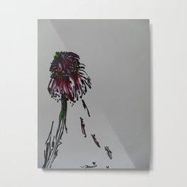 Drooping flower Metal Print