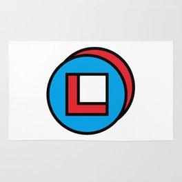 circle square Rug