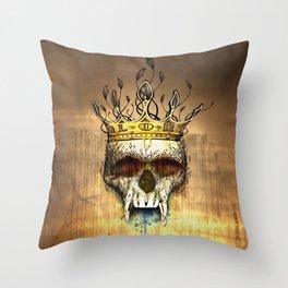 NO GLORY Throw Pillow