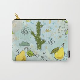 Cactus and Pear Carry-All Pouch