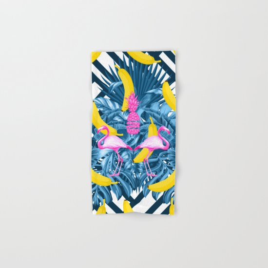 tropical banana fun  Hand & Bath Towel
