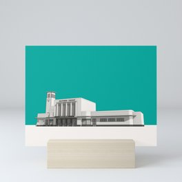 Surbiton Station Mini Art Print