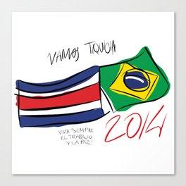 VAMOS TIQUICIA! Canvas Print