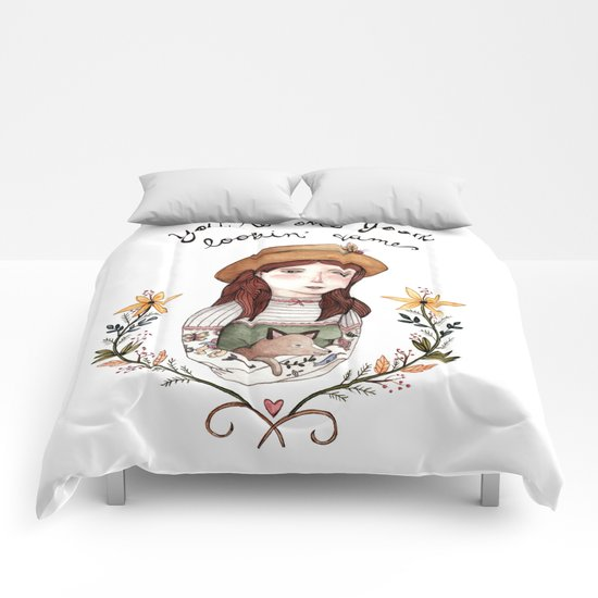 Good Lookin' Dame Comforters