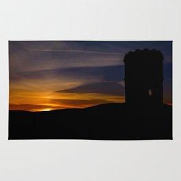 Solomon's temple sunset Rug