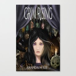 Grim Rising Canvas Print