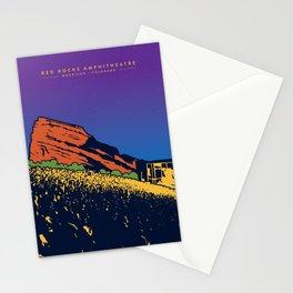 Red Rocks Stationery Cards