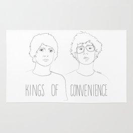 Kings of Convenience Rug