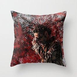 Walking Dead: Rick Throw Pillow