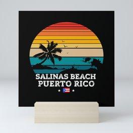 Salinas Beach PUERTO RICO Mini Art Print