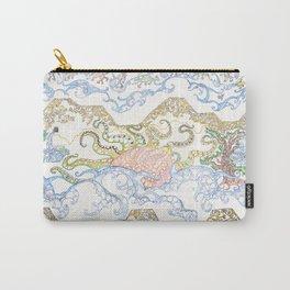 ' Templez, Cloudz, Sunz, Creaturez  '  By: Matthew Crispell   Carry-All Pouch