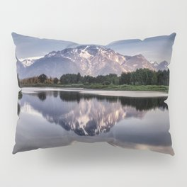 Mt. Moran and the Snake River Pillow Sham