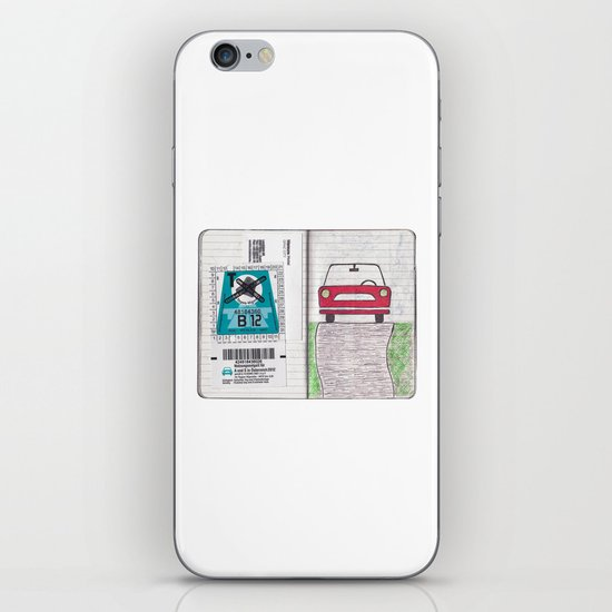 Roadtrip to Austria iPhone & iPod Skin