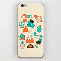 turtles iPhone & iPod Skins featuring Turtles by Jay Fleck