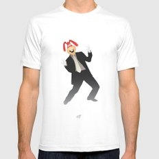 Manic Noid Mens Fitted Tee SMALL White