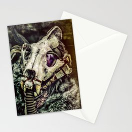 Eenola - skull mask Stationery Cards