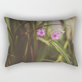 trebol flowers Rectangular Pillow