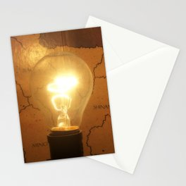 Let There Be Light - I Stationery Cards