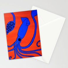Leopold the Squid Stationery Cards