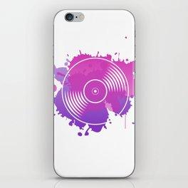 vinyl iPhone Skin