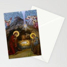 The Manger of Jesus Stationery Cards