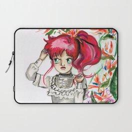 Sailor Jupiter Orange Flower Laptop Sleeve