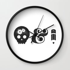 think&draw Wall Clock