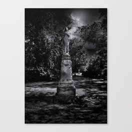 Tombstone Shadow No 2 Canvas Print