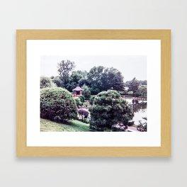 Bloomington Japanese Gardens #1 Framed Art Print