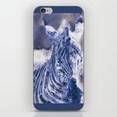 Zebra Oil iPhone & iPod Skin