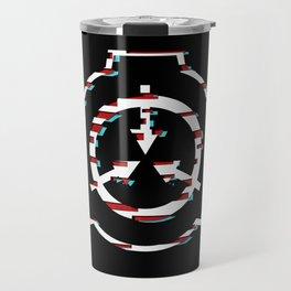 SCP Foundation Symbol Glitch Travel Mug