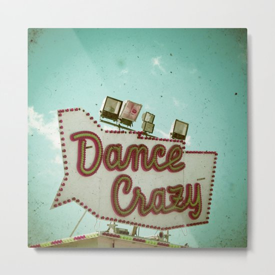 Dance Crazy Metal Print